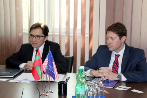 Meeting with representatives of political and economic department of the U.S. Embassy in Moldova