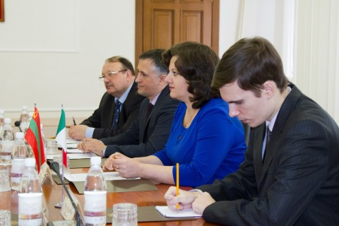 The Government received a delegation from Italy