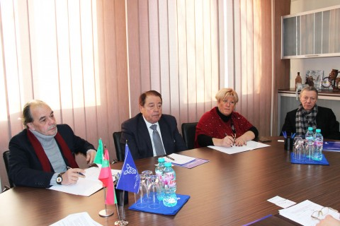 Meeting of the CCI management with the delegation from Italy