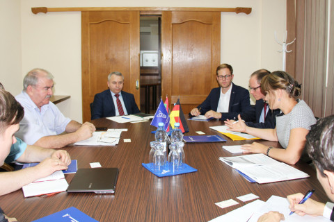 A meeting was held in CCI with representatives of the German consulting company Berlin economiсs