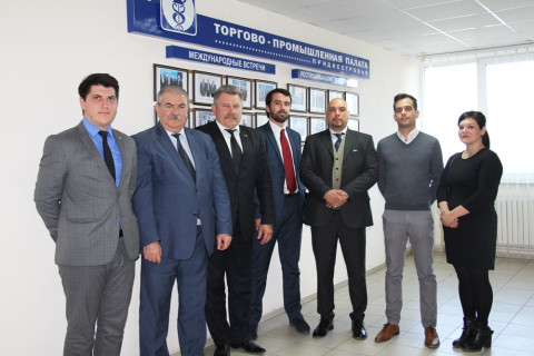 Chamber of Commerce and Industry of Pridnestrovie met Italian entrepreneurs