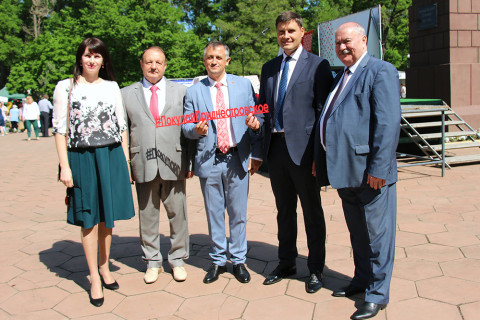 "This year's first fair ""Buy Pridnestrovian!"" took place in Tiraspol"