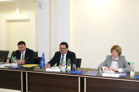The meeting of the Head of the EU delegation in the Republic of Moldova, Peter Mikhalko with the leading Pridnestrovian enterprises and business communities took place in the Chamber and Industry of Pridnestrovie